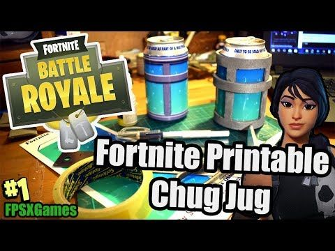 create a real life chug jug from the video game fortnite battle rh pinterest com