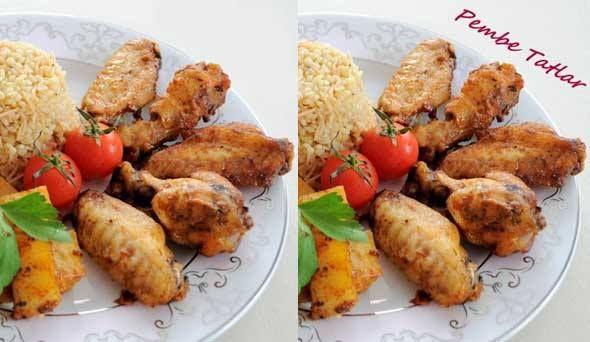 Baharatlı Tavuk Kanadı Tarifi