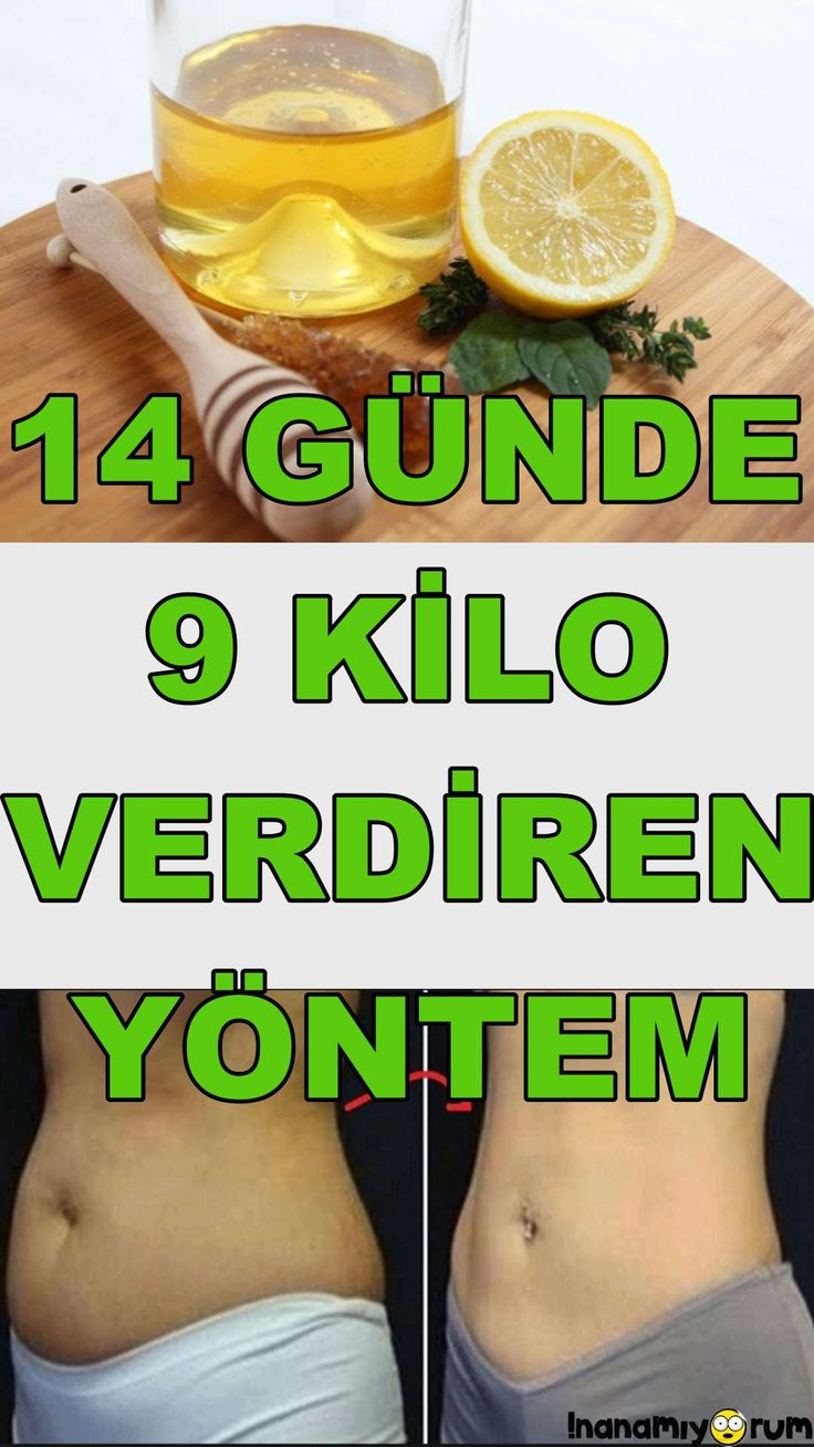 SADECE 14 GÜN! 14 Günde 9 Kilo Verdiren Yöntem!