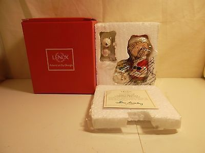 #326 LENOX PEANUTS- CHARLIE BROWN'S CHRISTMAS DELIVERY