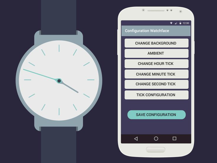 WatchFace animation for Android smartwatch
