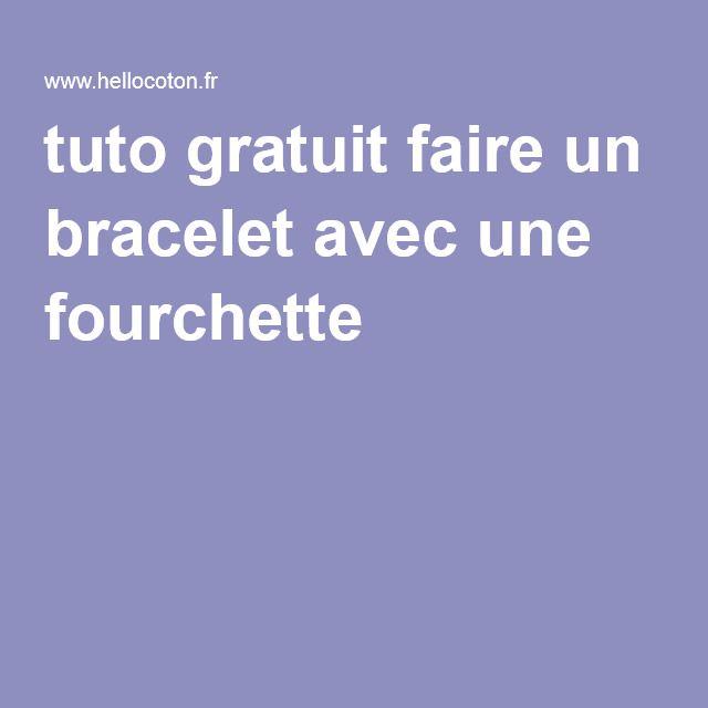 1000 id es sur le th me bracelet de fourchette sur pinterest bijoux de cuill re bijoux en - Faire un pompon avec fourchette ...