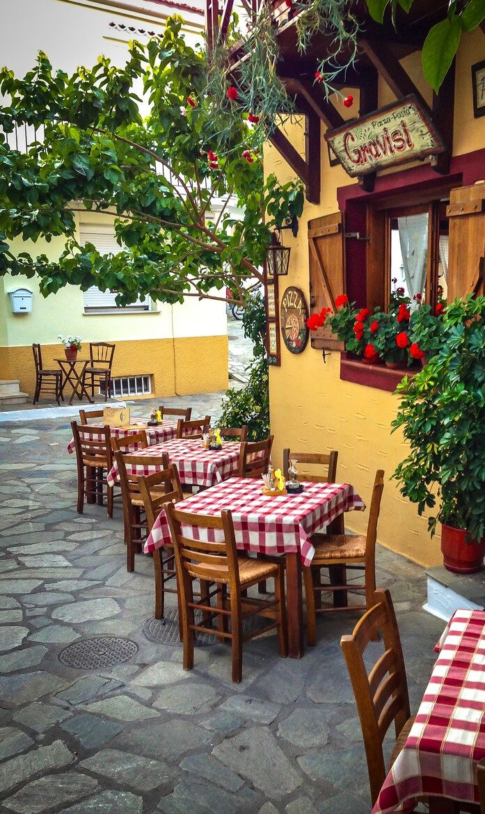 Gravisi Pizzeria - Skiathos, Greece