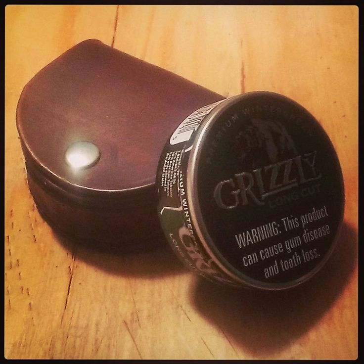 Leather+Dip+/+Chew+/+Snuff+/+Chewing+Tobacco+by+BackwoodsLeather,+$40.00