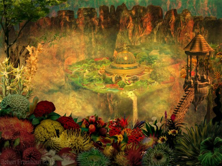The Hanging Gardens Of Babylon Were One Of The Seven Wonders Of The Ancient World And The Only