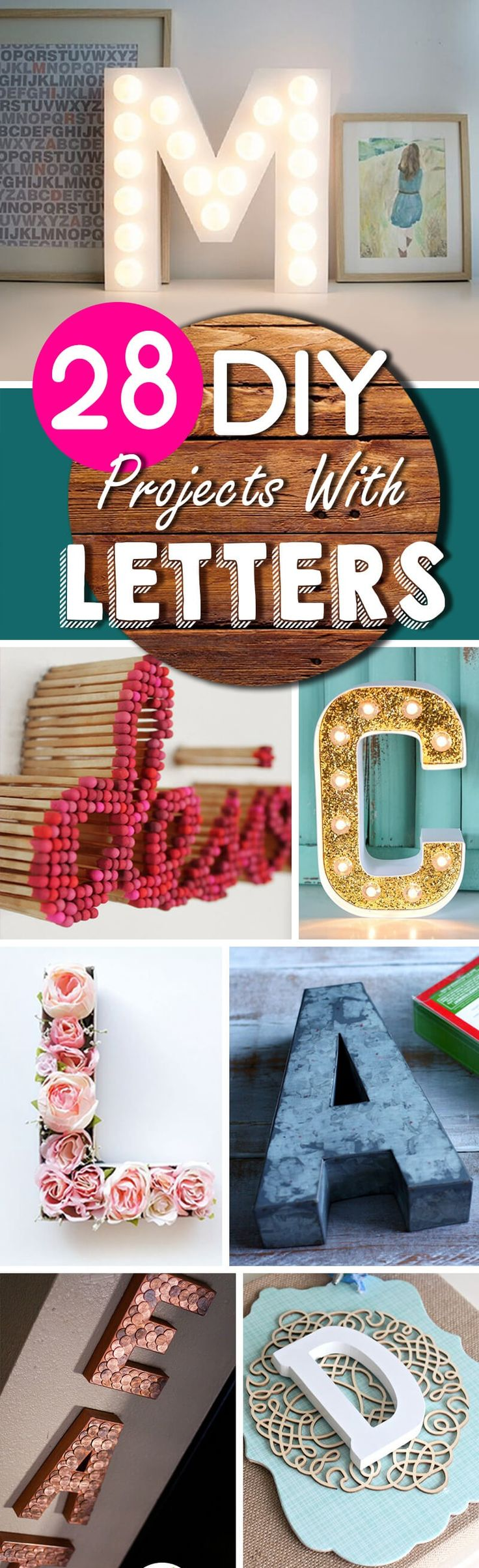 We're always looking for ways to add style to our homes without breaking the bank. One simple way to do this is by adding decorative letters to your design. Word art is all the rage right now and it's easy to see why! Whether your style is classic, modern, or funky, monograms or phrases are the ...