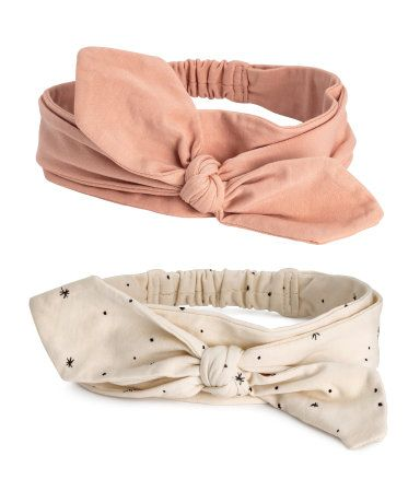 3-pack Headbands | Powder pink | Kids | H&M US