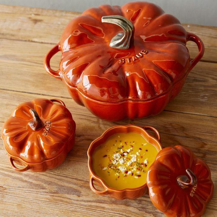 Staub Pumpkin Cocotte - Cinnamon - 24cm - Google Search