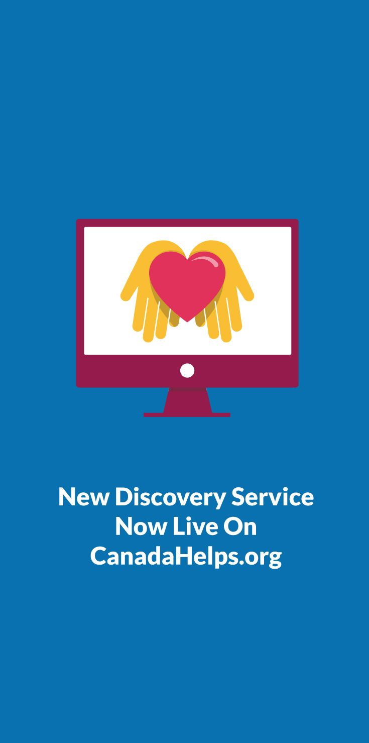 Want to attract new donors? CanadaHelps has launched a new discovery service now live.