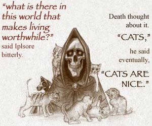 from Terry Pratchett's 'Disc World' series