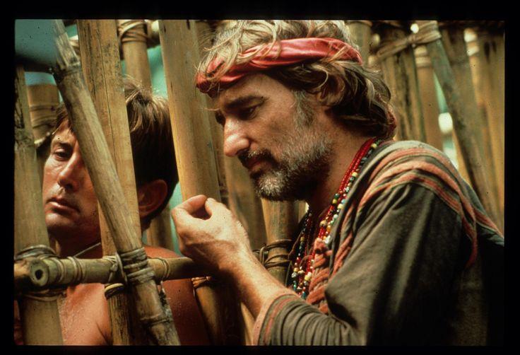 Still Of Dennis Hopper And Martin Sheen In Apocalypse Now