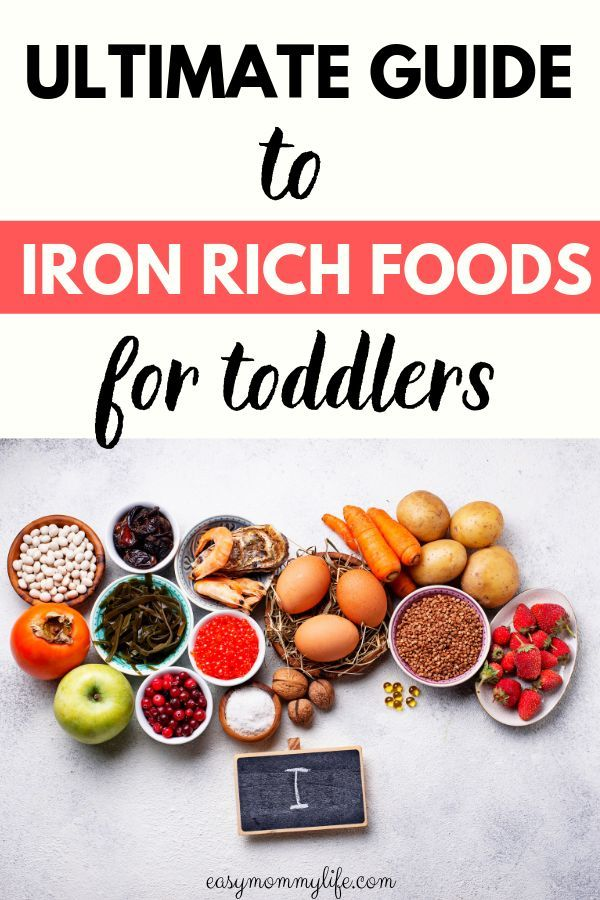 The Ultimate Guide To Iron Rich Foods For Toddlers Iron Rich