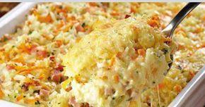 receta para Arroz al horno con queso crema.