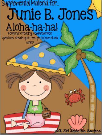 junie b jones aloha ha ha book report Junie b jones book buddy {no prep reading response graphic organizers} free junie b jones book buddy {no prep reading response graphic organizers} free.