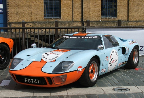 Ford GT40 – Built at the request of an enraged Henry Ford II, the GT40 teethed for a little before dominating at Le Mans. Ford was upset due to a failed acquisition of Ferrari, and shot Enzo between the eyes by building a better racecar than the men from Modena could muster.: Eye