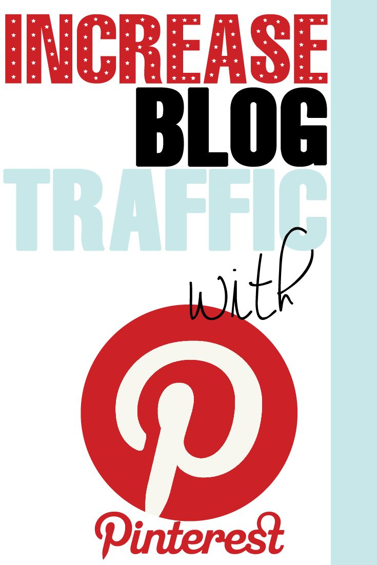 Increase Blog Traffic with Pinterest - If you are looking to increase traffic to your site check out how I break it down step by step on the types of pins that work, joining group boards and the best times to pin.  #blog #blogging #bloggingtips #bloggers #increasetraffic