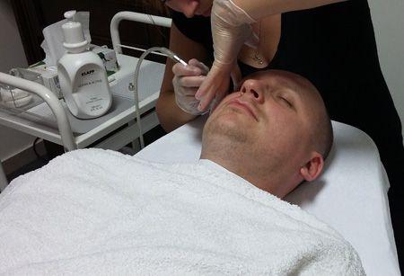 Zabiegi dla mężczyzn. #pielęgnacja #men #facet #spa #oczyszczanie #nawilżanie #wygładzenie