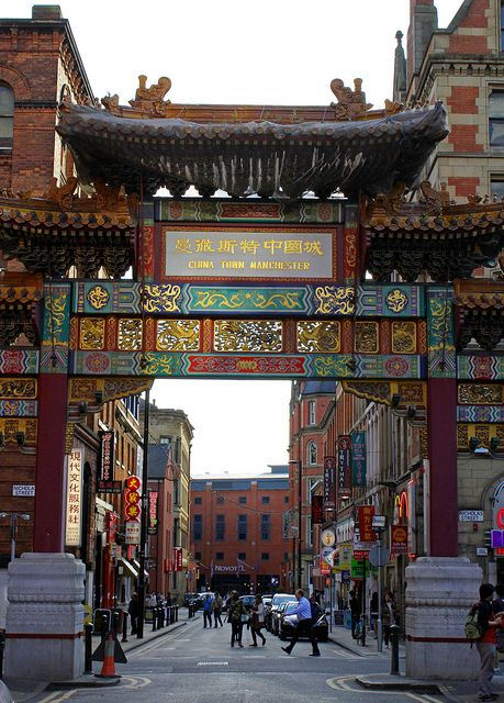 Chinatown, Manchester, England