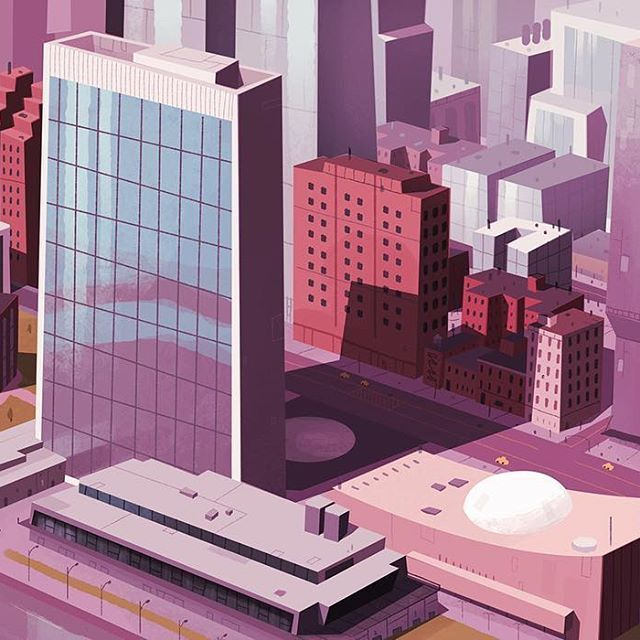 City Illustration by behance.net/mojo999 - Use #gfxmob for the chance of your work being featured! Want to say hello? email us at hello@graphicsmob.co.uk . . . #graphicdesign #graphicdesigner #creative #designinspiration #creativity #designer #illustrator #illustration #photoshop #adobe #gfxmob #dribbble #behance