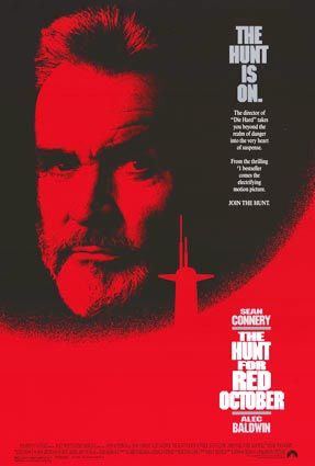 THE HUNT FOR RED OCTOBER Movie Poster PICTURES PHOTOS and IMAGES