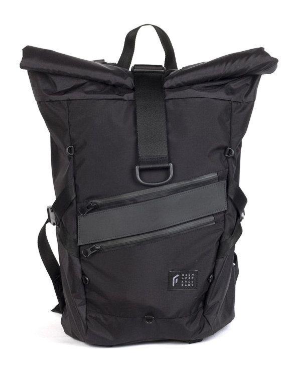Go By Gosha Orekhov Technic Rolltop Expert Backpack Waterproof Rucksack Men Backpack Hiking Backpack Cycling Backpack Black To Order Waterproof Rucksack Men S Backpack Backpacks