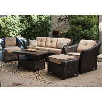 High Quality Toronto Outdoor Deep Seating Set   6 Pc.   Sams Club