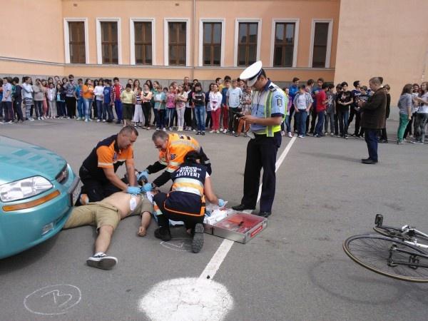Bihor - Si copiii pot salva o viata!