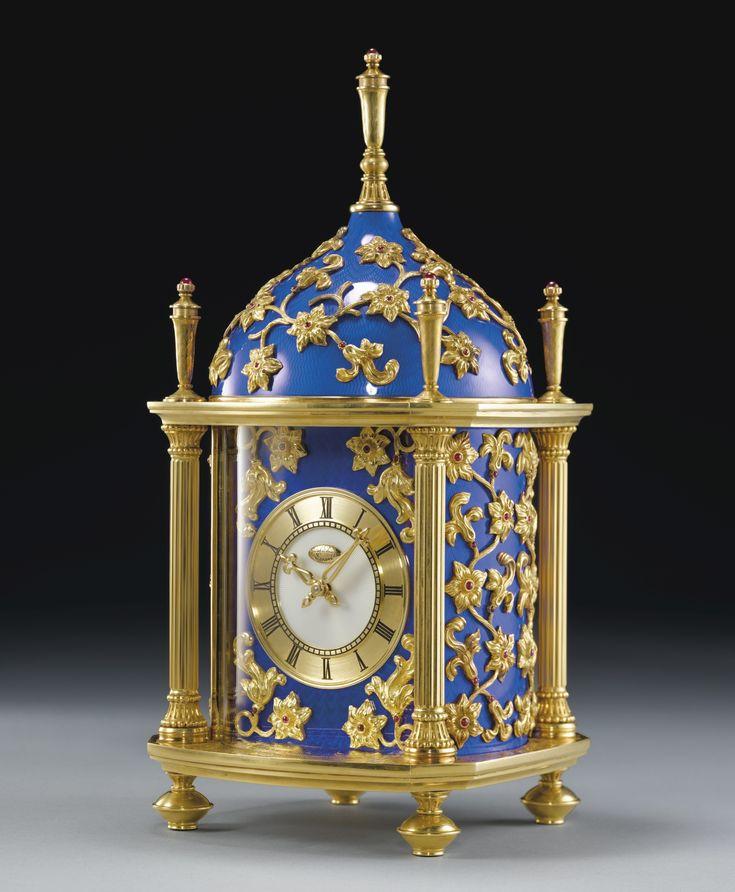 "Patek Philippe ""Constellée Bleu Dome Clock"""