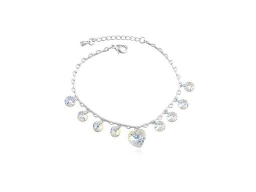 £9.99 for a Swarovski elements heart anklet - delivery included