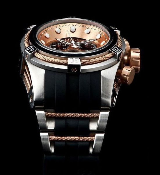 Another view of the Invicta Watches Bolt Zeus.