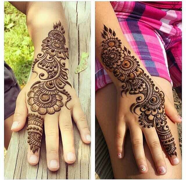 Absolutely beautiful henna...