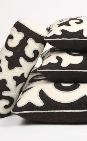 Shsyrdak pillows by Aviva home