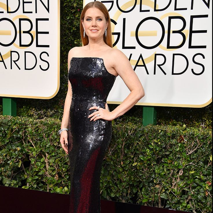 Amy Adams wearing TOM FORD at the 74th Annual #GoldenGlobe Awards.  #TOMFORD