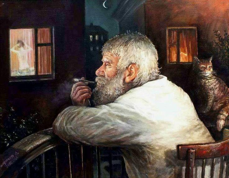 Творчество современного художника Леонида Баранова