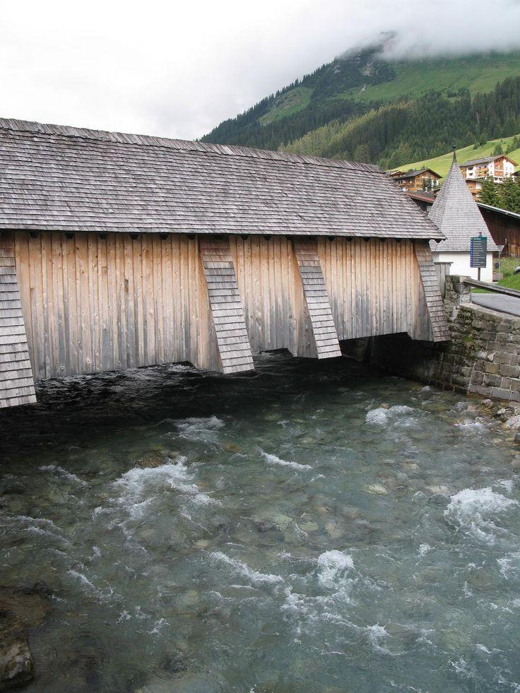 Lech, Oostenrijk, overdekte brug, 17e eeuw