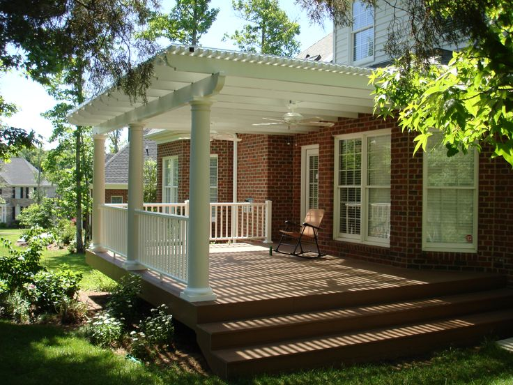 17 best ideas about fiberglass columns on pinterest Front porch without roof