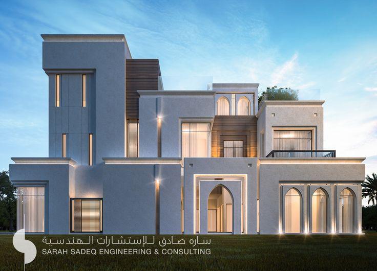 500 m private villa kuwait by sarah sadeq architects