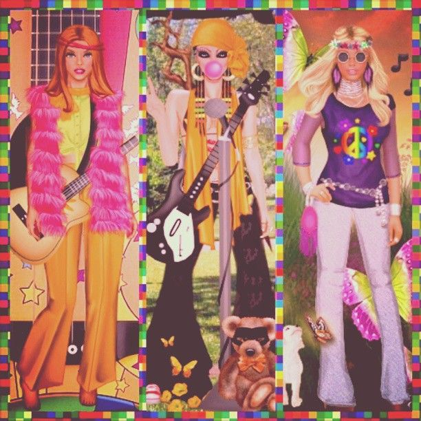 """For Throwback Thursday, Diva Chix #fashionistas went allll the way back to 1969. #Woodstock to be exact. Where the common theme was """"Peace"""". It seems like we need a bit of peace here in 2013 as well. http://www.divachix.com #tbt #prayforboston #60s #1969 #peace #groovy #dressupgames #divachix #fashionillustration"""
