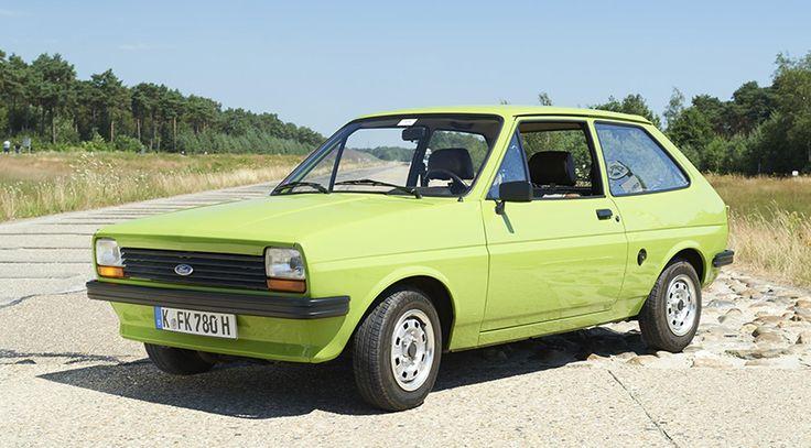El Ford Fiesta se hace mayor... ¡Cumple 40 años! - http://www.actualidadmotor.com/ford-fiesta-se-hace-mayor-cumple-40-anos/
