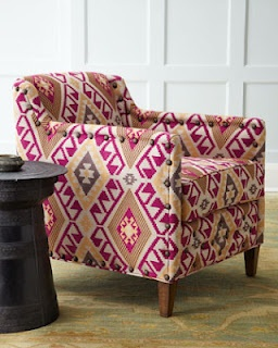 """Southwestern Patterned Furniture """"Dale"""" Chair"""