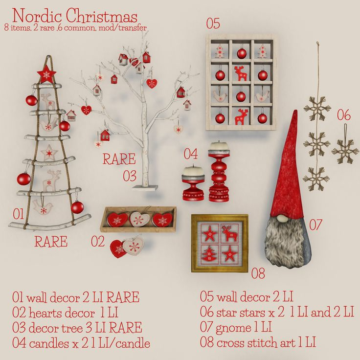 NORDIC GACHA  Available @ Myrrine inworld store in Second Life.