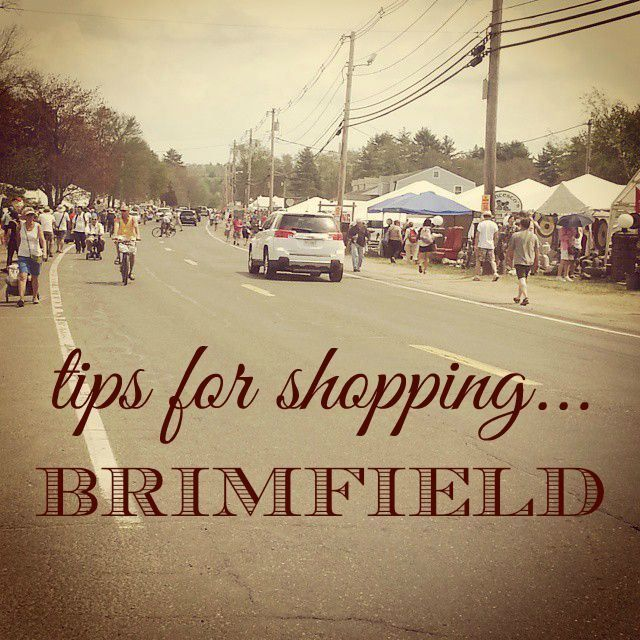 tips for shopping Brimfield Antique Market