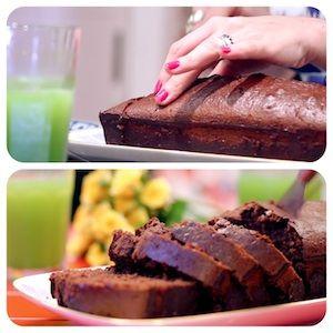 Bolo de Chocolate Com Biomassa de Banana Verde - Receitas de Bolo - I COULD KILL FOR DESSERT