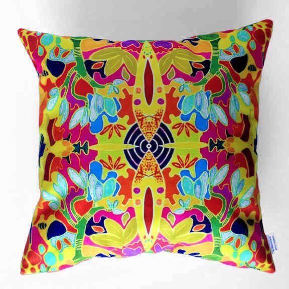 Abstract no. 4 Plush Cushion Cover