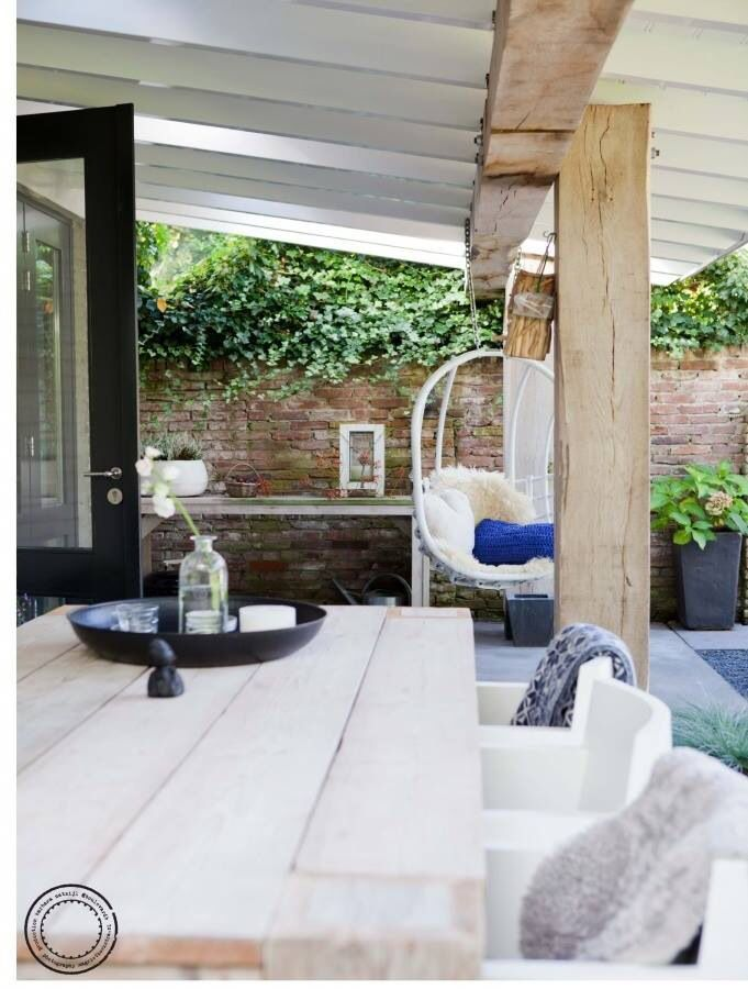 Stoere stijl/veranda