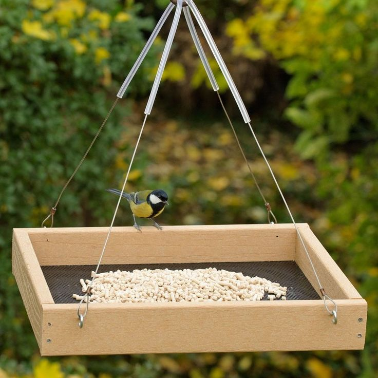 how to make a bird table out of wood
