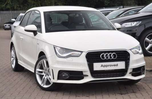Used 2014 (14 reg) White Audi A1 2.0 TDI S Line 3dr for sale on RAC Cars