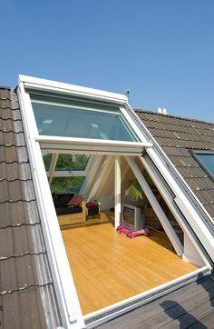 Loft Conversion - Roof sliding window OpenAir - DSF_Openair 848_5299 - Sunshine Winter Garden - Gallery