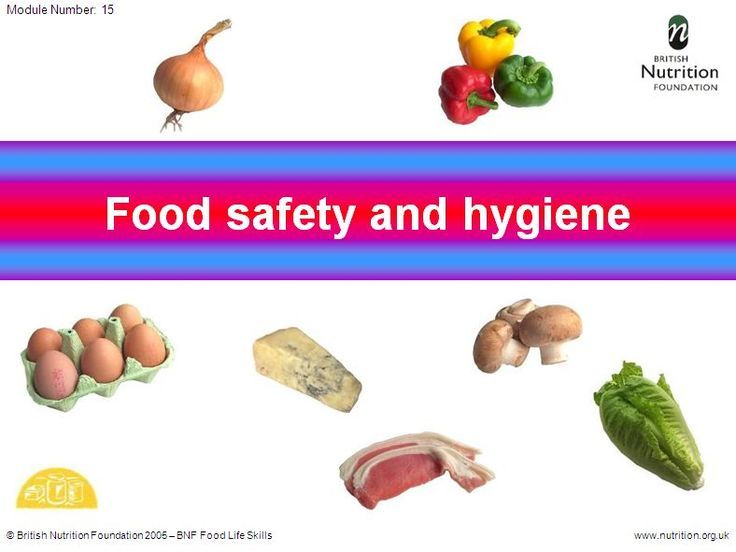 relationship and importance of sanitary safe food