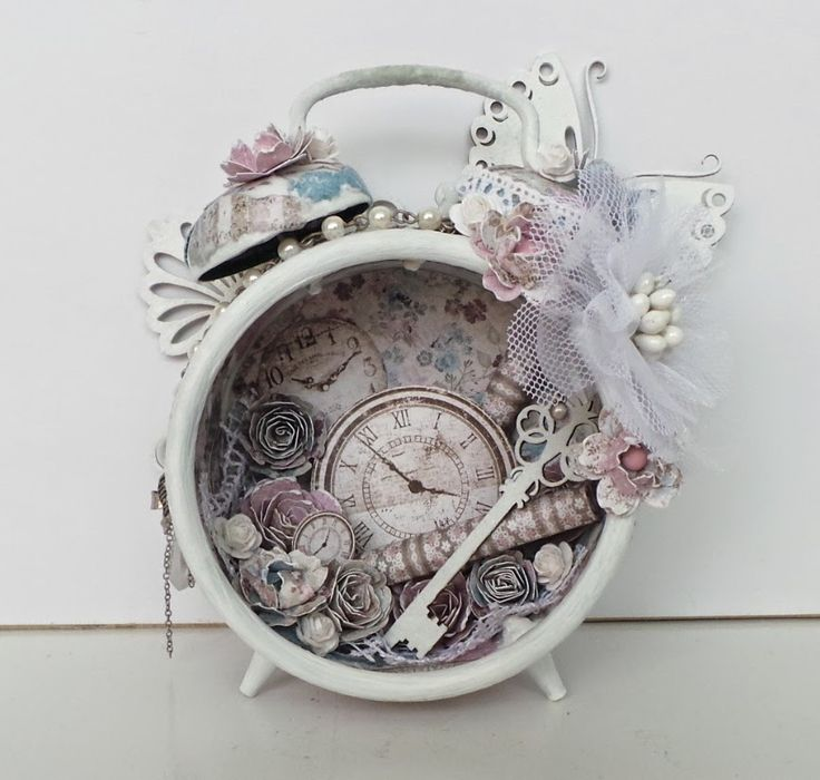 altered alarm clock -with tutorial- | Official blog of MajaDesign Ingrid Gooyer
